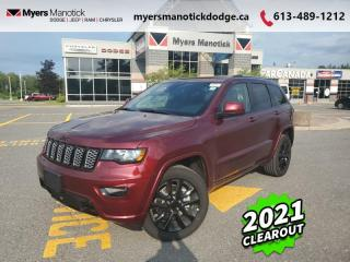 New 2021 Jeep Grand Cherokee Altitude  - Leather Seats - $311 B/W for sale in Ottawa, ON