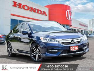 Used 2016 Honda Accord Sport APPLE CARPLAY™ & ANDROID AUTO™   POWER SUNROOF   REARVIEW CAMERA for sale in Cambridge, ON
