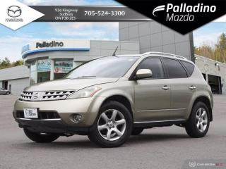 Used 2007 Nissan Murano SE - SELF CERTIFY for sale in Sudbury, ON