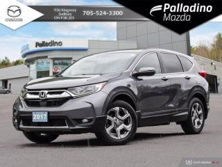 Used 2017 Honda CR-V EX - POWER DRIVERS SEATS - SUNROOF - SAFETY FEATURES for sale in Sudbury, ON