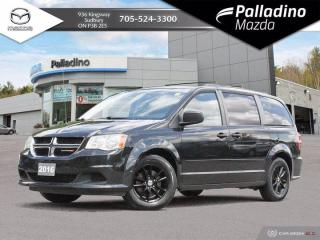 Used 2016 Dodge Grand Caravan SXT - NO ACCIDENTS - POWER SLIDING DOORS - ONE OWNER for sale in Sudbury, ON