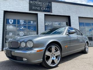 Used 2005 Jaguar XJ XJR SUPERCHARGED/ CLEAN CARFAX/ CERTIFIED for sale in Guelph, ON