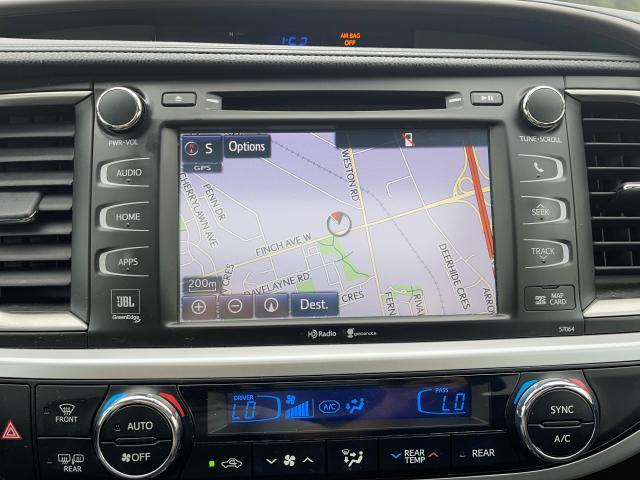 2015 Toyota Highlander Hybrid Limited Navigation  Panoramic Sunroof  Camera Photo14