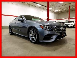 Used 2018 Mercedes-Benz E-Class E400 4MATIC COUPE DISTRONIC PREMIUM CLEAN CARFAX! for sale in Vaughan, ON