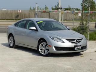 Used 2010 Mazda MAZDA6 GS,LOADED,NO-ACCIDENT,CERTIFIED,LOW KMS,AUTOMATIC for sale in Mississauga, ON