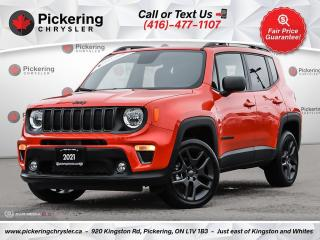 Used 2021 Jeep Renegade 80th Anniversary - LEATHER/PANO ROOF/HEATED SEATS/ for sale in Pickering, ON