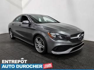 Used 2017 Mercedes-Benz CLA-Class CLA 250- AWD - Bluetooth- Climatiseur for sale in Laval, QC