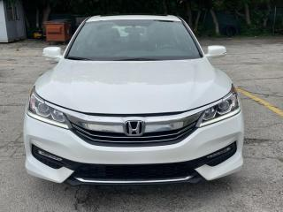 Used 2017 Honda Accord Sedan Sport ACCIDENT FREE WE FINANCE for sale in Mississauga, ON
