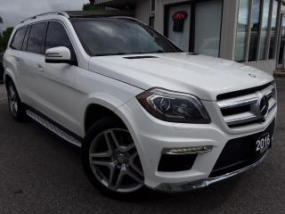 Used 2016 Mercedes-Benz GL-Class GL350 BlueTEC - LEATHER! NAV! 360 CAM! PANO ROOF! H/K SOUND! for sale in Kitchener, ON