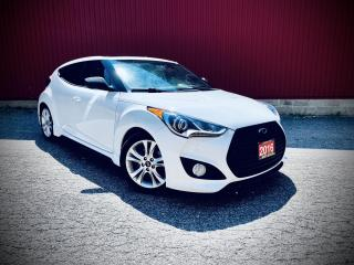 Used 2016 Hyundai Veloster Turbo, Navi, B-cam, Pano-Roof, 6MT for sale in Scarborough, ON
