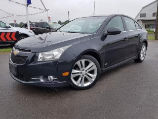 Used 2012 Chevrolet Cruze 2LT RS Blue-tooth! No Accidents! for sale in Dunnville, ON