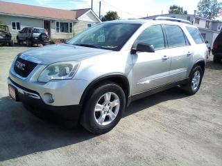 Used 2008 GMC Acadia SLE-1 FWD for sale in Leamington, ON