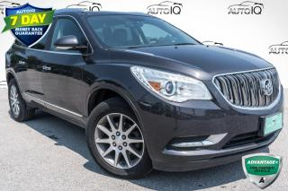 Used 2017 Buick Enclave Leather HEATED SEATS!! 7 PASSENGER SEATING!! POWER LIFTGATE!! for sale in Barrie, ON