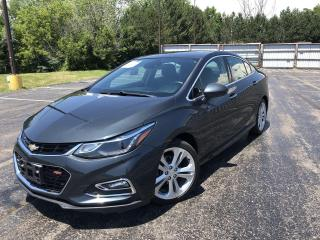 Used 2017 Chevrolet Cruze Premier 2WD for sale in Cayuga, ON