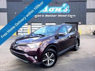 Used 2017 Toyota RAV4 XLE - Sunroof,  Blindspot Monitor, Lane Departure, Heated + Power Seats, Power Liftgate and More! for sale in Guelph, ON