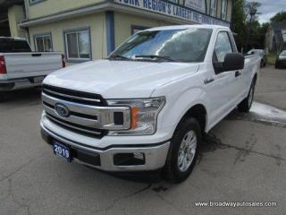 Used 2019 Ford F-150 LIKE NEW XL EDITION 3 PASSENGER 5.0L - V8.. TWO-WHEEL DRIVE.. REGULAR-CAB.. 8-FOOT-BOX.. BACK-UP CAMERA.. KEYLESS ENTRY.. TOW SUPPORT.. for sale in Bradford, ON