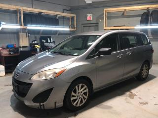 Used 2012 Mazda MAZDA5 ****AS IS**** * 6 Passenger * Cruise Control * Steering Wheel Controls * Hands Free Calling * AM/FM/SXM/Aux * 16 Alloy Rims * Rear Wiper * Automatic/ for sale in Cambridge, ON