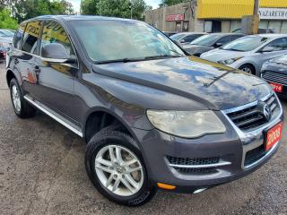 Used 2008 Volkswagen Touareg Comfortline/4WD/NAVI/CAMERA/LEATHER/ROOF/ALLOYS++ for sale in Scarborough, ON