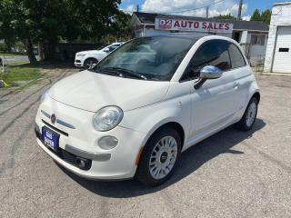Used 2012 Fiat 500 Lounge/Automatic/Moonroof/Bluetooth/Certified for sale in Scarborough, ON