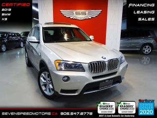 Used 2013 BMW X3 ACCIDENT FREE | CERTIFIED | FINANCE | 9055478778 for sale in Oakville, ON