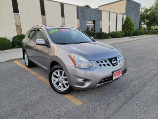 Used 2012 Nissan Rogue SV,REARVIEW CAMERA, SUNROOF, NO ACCIDENT,CERTIFIED for sale in Mississauga, ON