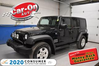Used 2014 Jeep Wrangler Unlimited Sport   HARD + SOFT TOP   TOW PACKAGE   for sale in Ottawa, ON