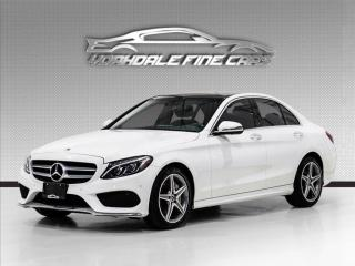 Used 2018 Mercedes-Benz C-Class C 300 4MATIC AMG Pkg, Navigation, 360 Camera, Panoramic for sale in Concord, ON
