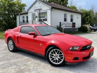 Used 2012 Ford Mustang V6 6-Speed Manual Bluetooth Heated Seats for sale in Sutton, ON