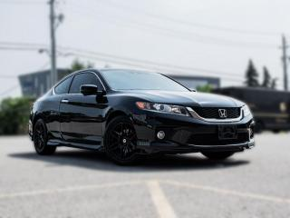 Used 2015 Honda Accord Coupe EX-L  NAV ROOF  LEATHER HEATED SEATS  SIDE CAMERA for sale in North York, ON