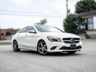 Used 2015 Mercedes-Benz CLA-Class CLA250 4MATIC  NAV PANOROOF  B.SPOT  LOADED  LOW KM for sale in North York, ON