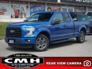 Used 2015 Ford F-150 XLT  CAM BLUETOOTH P/SEAT 18-AL for sale in St. Catharines, ON