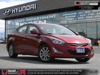 Used 2014 Hyundai Elantra L  - Sunroof -  Heated Seats for sale in Nepean, ON