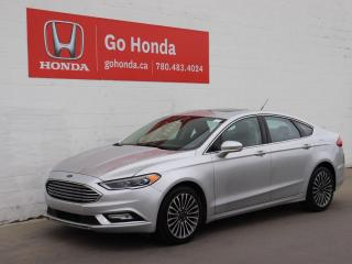 Used 2017 Ford Fusion SE AWD ECOBOOST LEATHER NAVIGATION for sale in Edmonton, AB