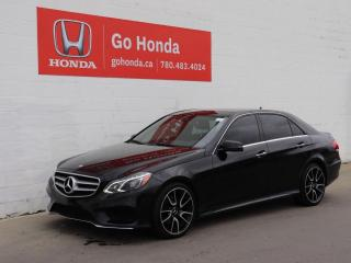 Used 2016 Mercedes-Benz E-Class 4MATIC® for sale in Edmonton, AB