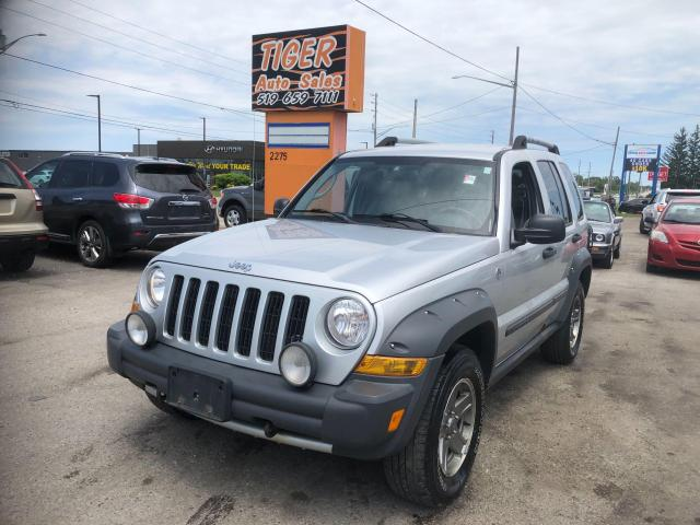 2005 Jeep Liberty Renegade*4X4*ONLY 184KMS*LEATHER*AS IS SPECIAL