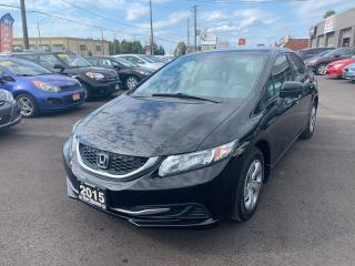 Used 2015 Honda Civic LX for sale in Hamilton, ON