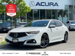 Used 2020 Acura TLX 2.4L P-AWS w/Tech Pkg A-Spec for sale in Markham, ON