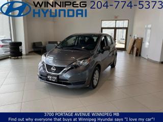Used 2019 Nissan Versa Note SV - Heated seats, bluetooth for sale in Winnipeg, MB