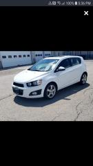 Used 2014 Chevrolet Sonic LT for sale in Oshawa, ON