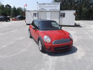 Used 2013 MINI Cooper Hatchback for sale in Elmvale, ON