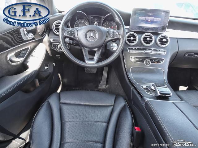 2018 Mercedes-Benz C300 4MATIC, BACKUP CAMERA, NAVI, PAN ROOF,  BLIND SPOT