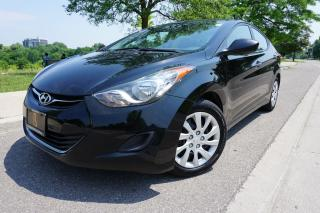 Used 2013 Hyundai Elantra 1 OWNER / NO ACCIDENTS / CERTIFIED / LOCALLY OWNED for sale in Etobicoke, ON