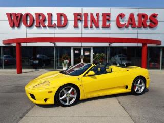 Used 2004 Ferrari 360 Modena Spider | Gated 6-Speed! | Last Production Year! for sale in Etobicoke, ON