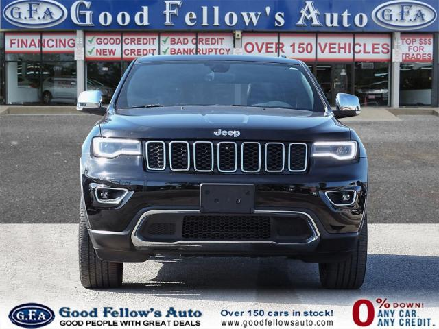 2018 Jeep Grand Cherokee LIMITED, 4WD, REARVIEW CAMERA, LEATHER SEATS, NAVI