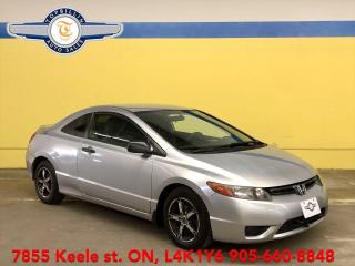 Used 2007 Honda Civic DX-G 5 Speed Manual, 2 Years Warranty for sale in Vaughan, ON