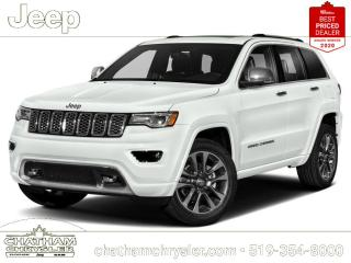 New 2021 Jeep Grand Cherokee Overland for sale in Chatham, ON