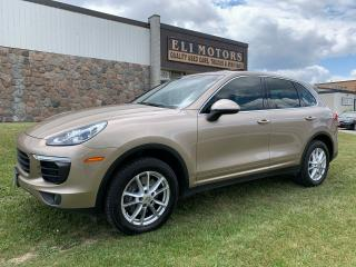 Used 2016 Porsche Cayenne PREMIUM PKG AWD NAVI REAR VIEW CAM SUNROOF for sale in North York, ON