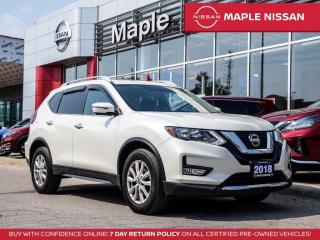 Used 2018 Nissan Rogue SV AWD Bluetooth Blind Spot Remote Start Rear Cam for sale in Maple, ON