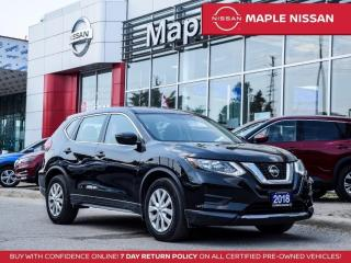 Used 2018 Nissan Rogue S Apple Carplay Blind Spot Backup Camera Bluetooth for sale in Maple, ON