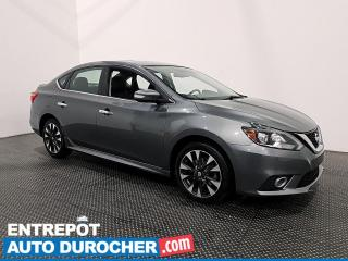 Used 2017 Nissan Sentra SR TURBO - TOIT OUVRANT - CUIR - SIÈGES CHAUFFANTS for sale in Laval, QC